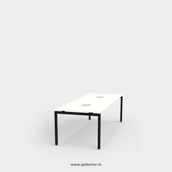 Montel Meeting Table in White Finish - OMT002 C4