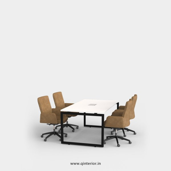 Aaron Meeting Table in White Finish - OMT001 C4