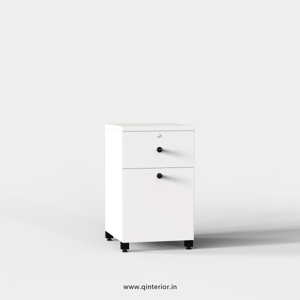 Stable Pedestal Unit in White Finish - OPU002 C4