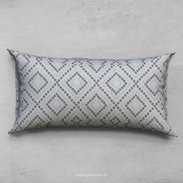 Grey Jacquard Cushion With Cushion Cover - CUS002 JQ