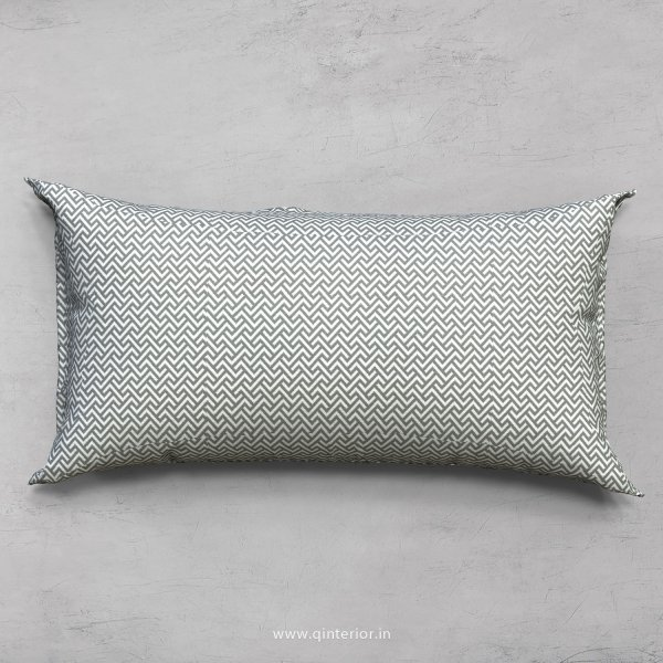 Grey Zigzag Cushion With Cushion Cover - CUS002 CP
