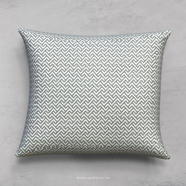 Light Black Zigzag Cushion With Cushion Cover - CUS001 BG