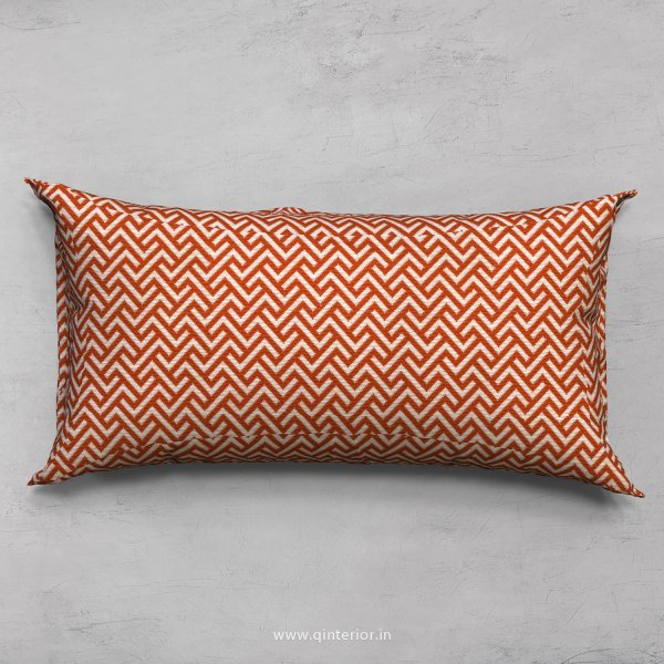 Orange Zigzag Cushion With Cushion Cover - CUS002 CP