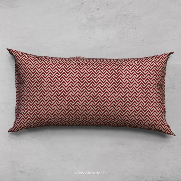Red Zigzag Cushion With Cushion Cover - CUS002 CP