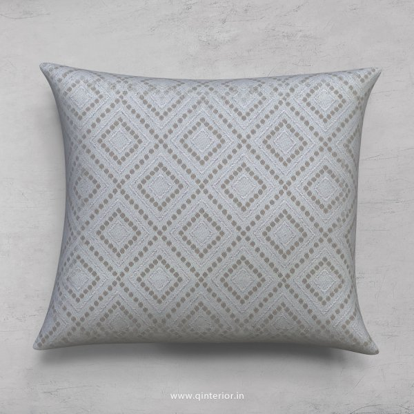 Grey Jaquard Cushion With Cushion Cover - CUS001 JQ17