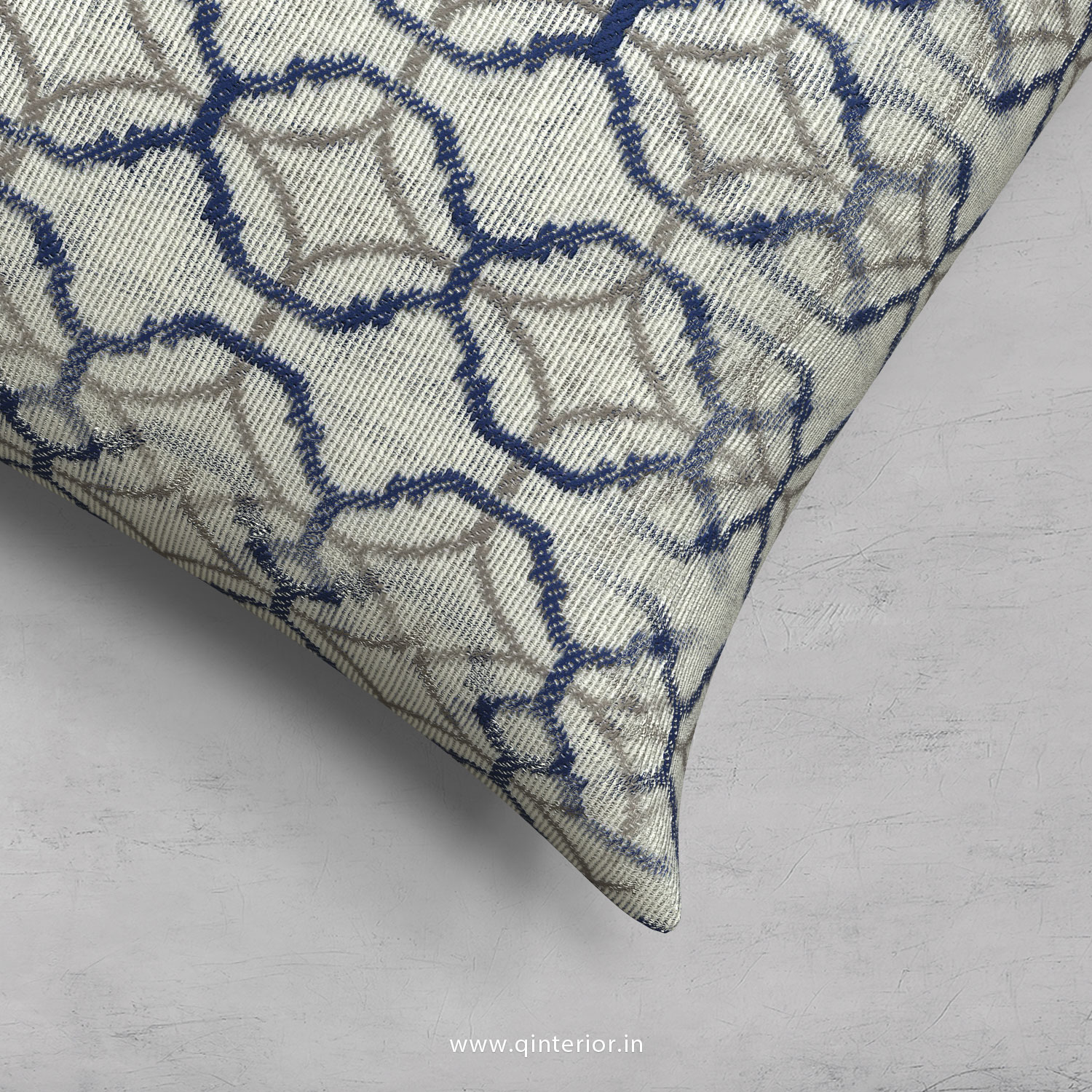 Cushion With Cushion Cover in Jacquard- CUS001 JQ19