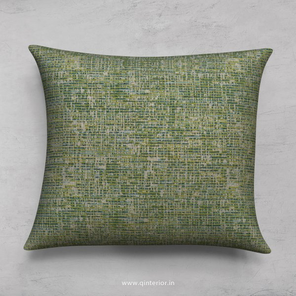 Green Jaquard Cushion With Cushion Cover - CUS001 JQ22