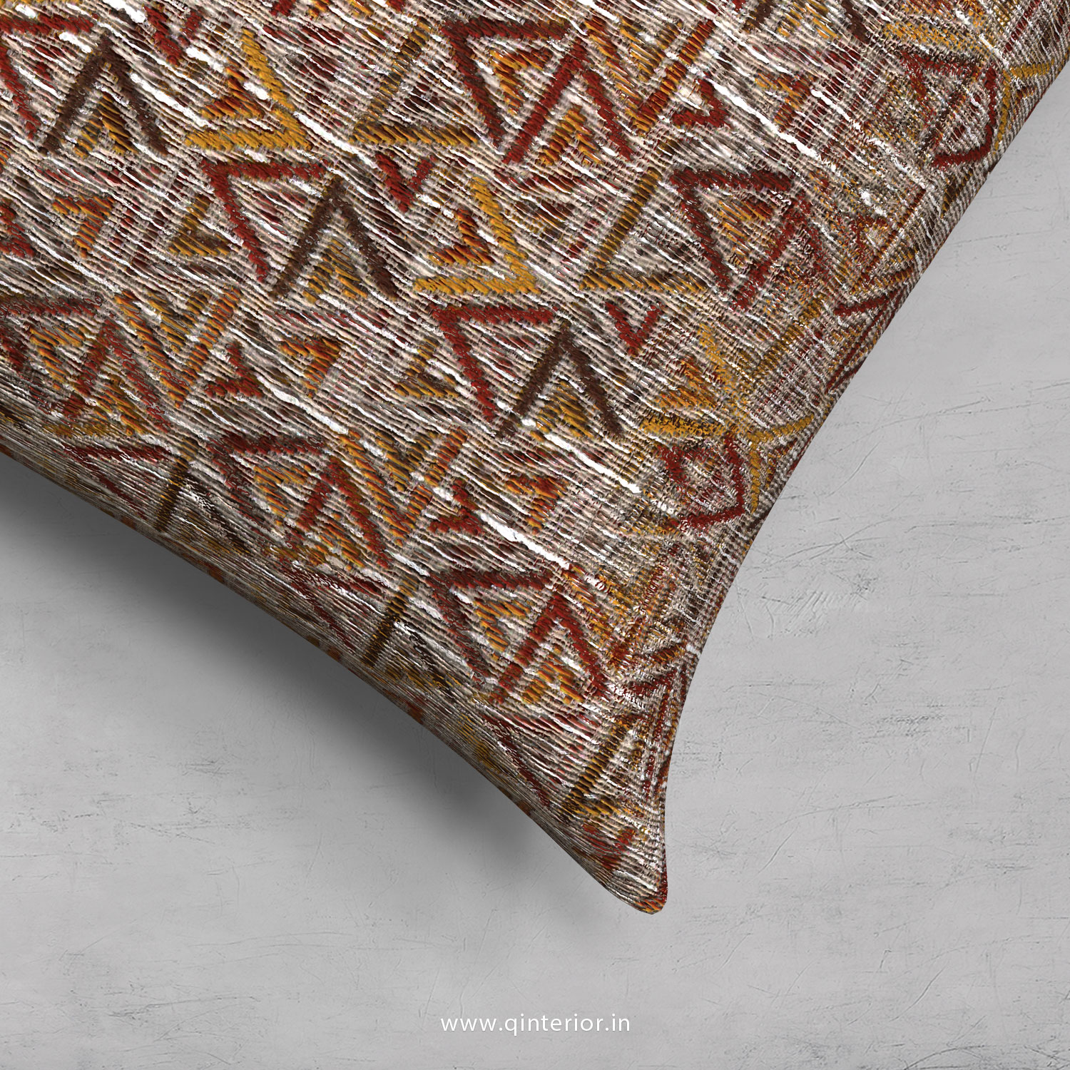 Cushion With Cushion Cover in Jacquard - CUS001 JQ32