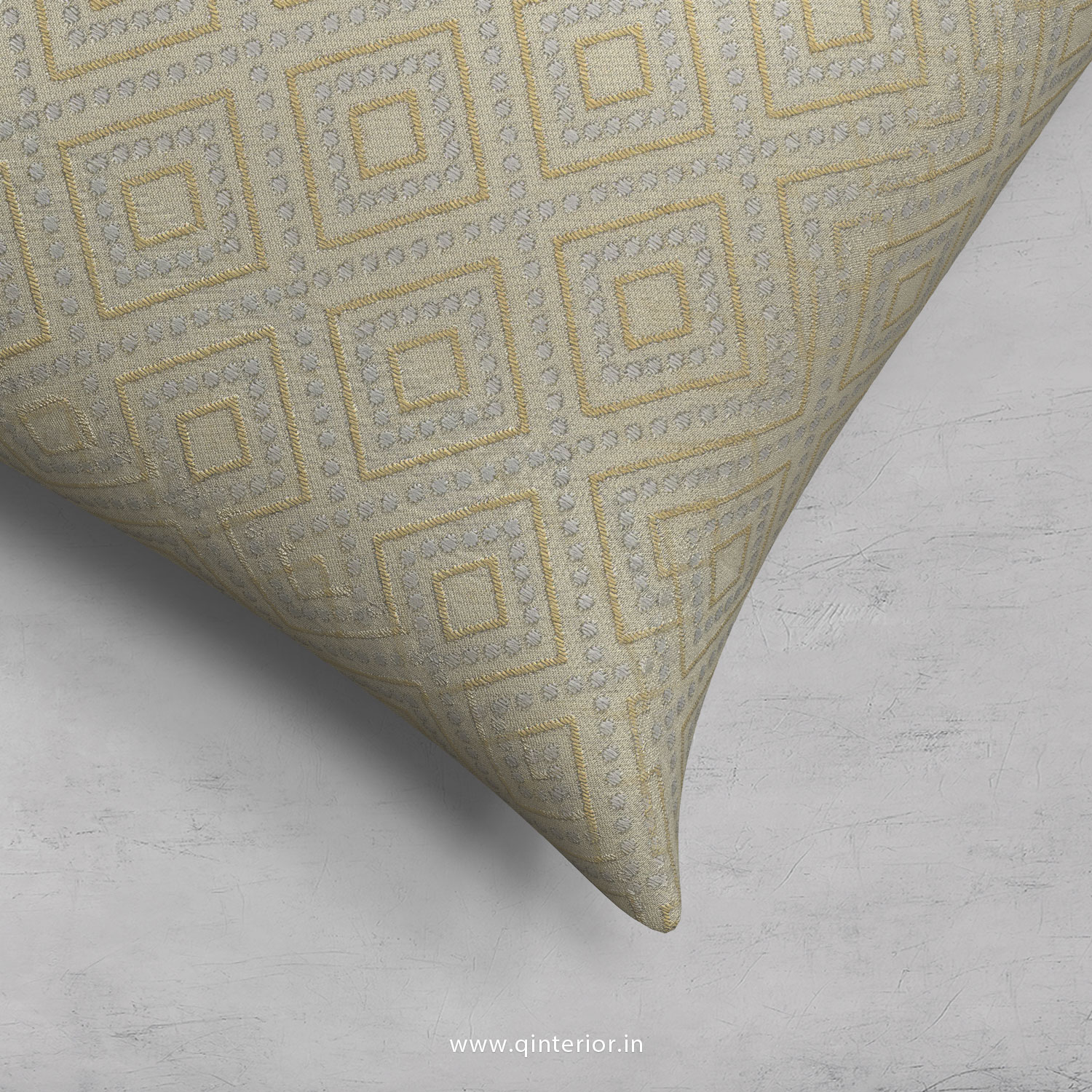 Cushion With Cushion Cover in Jacquard- CUS001 JQ35