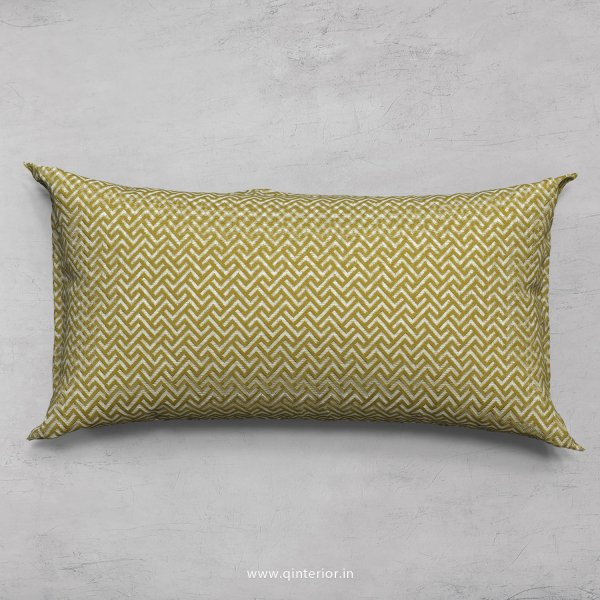 Green Zigzag Cushion With Cushion Cover - CUS001 JQ