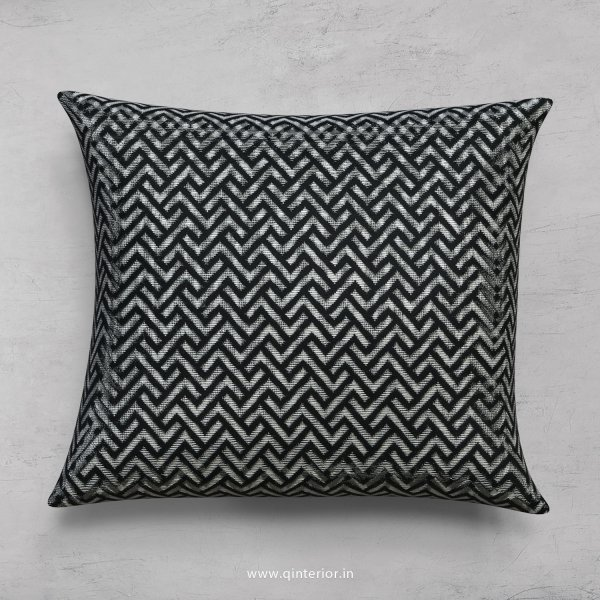 Blue Zigzag Cushion With Cushion Cover - CUS001 JQ