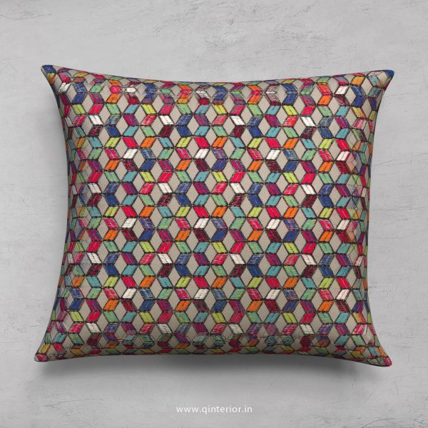 Grey Jaquard Cushion With Cushion Cover - CUS001 JQ