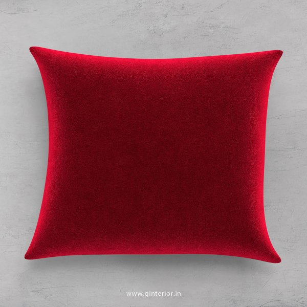 Cushion With Cushion Cover in Velvet Fabric- CUS001 FL08