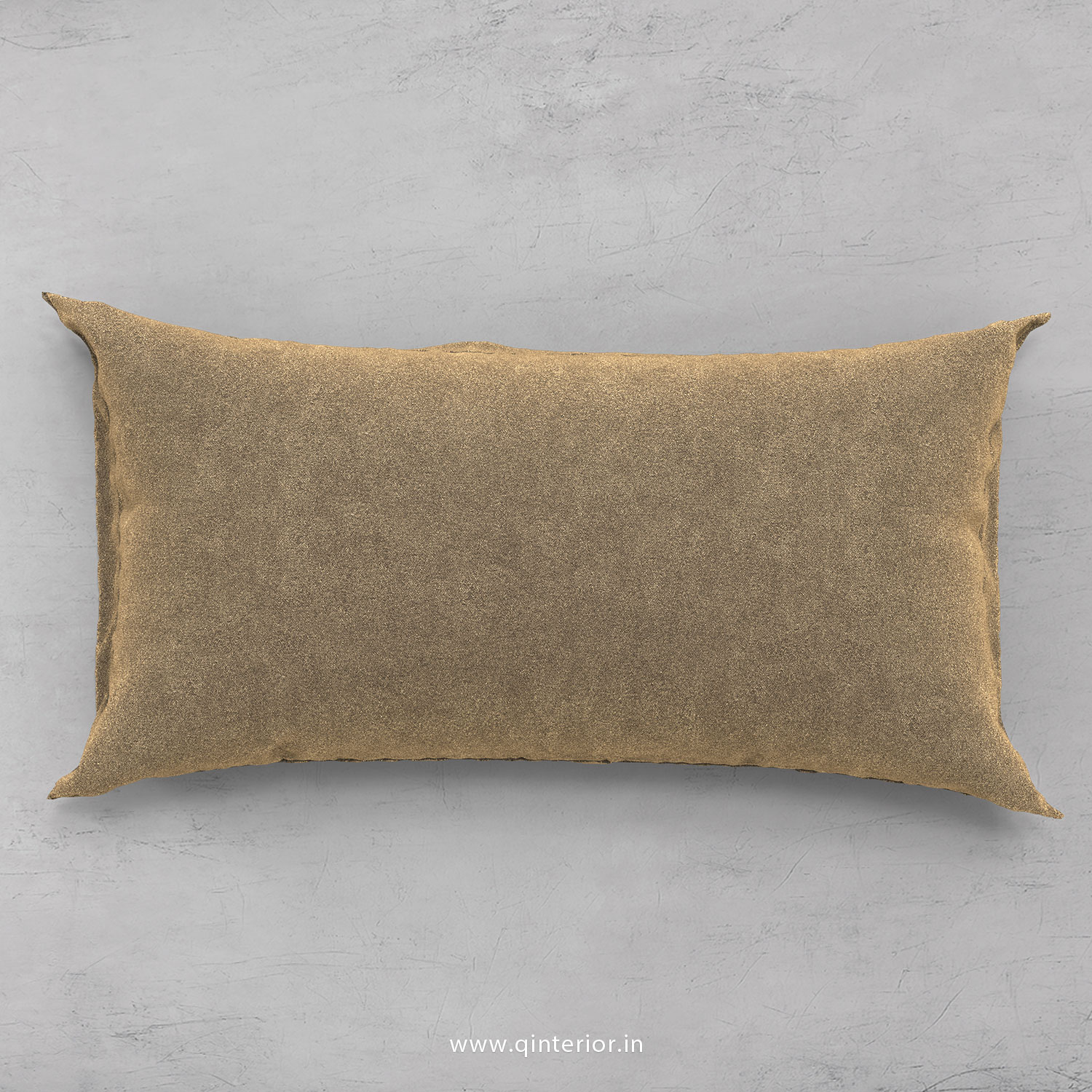 Cushion With Cushion Cover in Velvet Fabric- CUS002 FL03