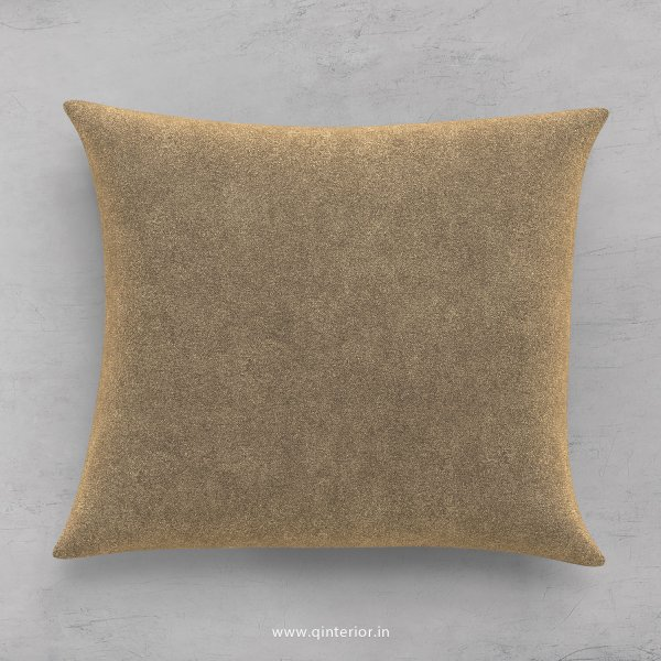 Cushion With Cushion Cover in Velvet Fabric- CUS001 FL03