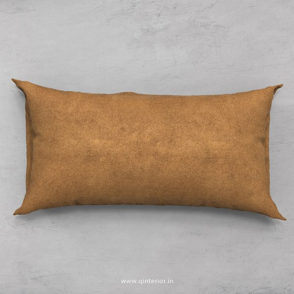 Cushion With Cushion Cover in Fab Leather- CUS002 FL01