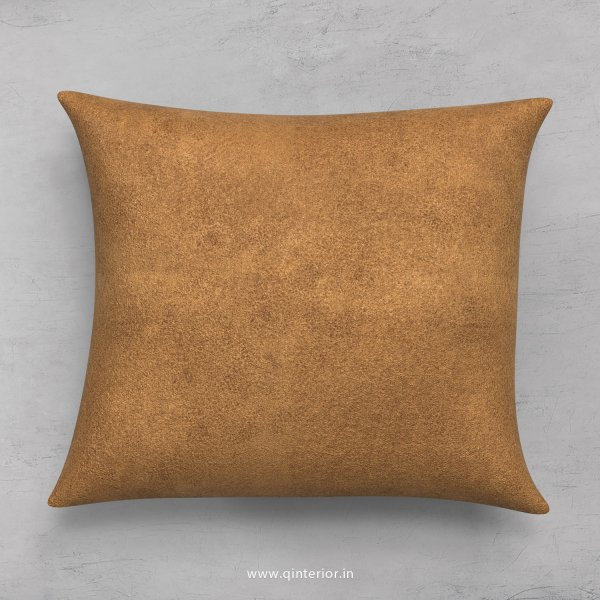 Cushion With Cushion Cover in Fab Leather- CUS001 FL01