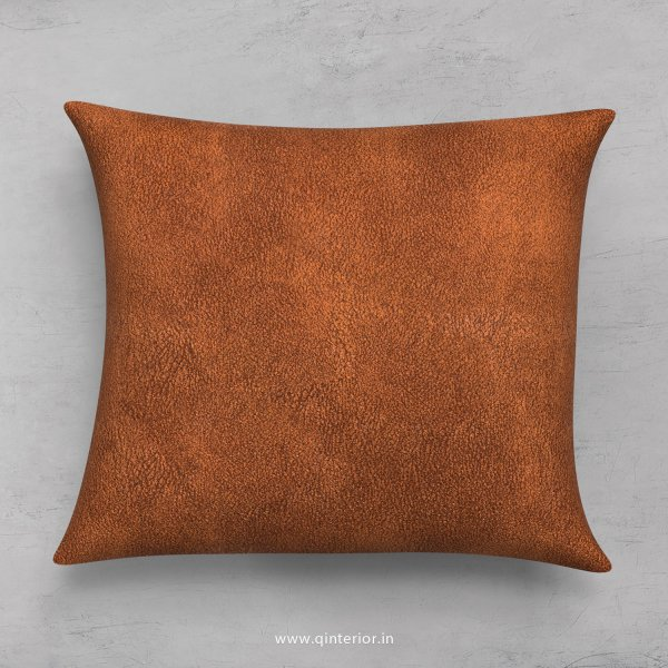 Cushion With Cushion Cover in Fab Leather - CUS001 FL09