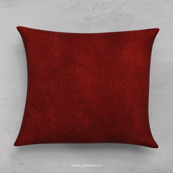 Cushion With Cushion Cover in Fab Leather - CUS001 FL08