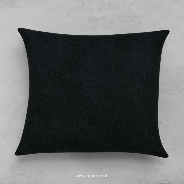 Cushion With Cushion Cover in Fab Leather- CUS001 FL13