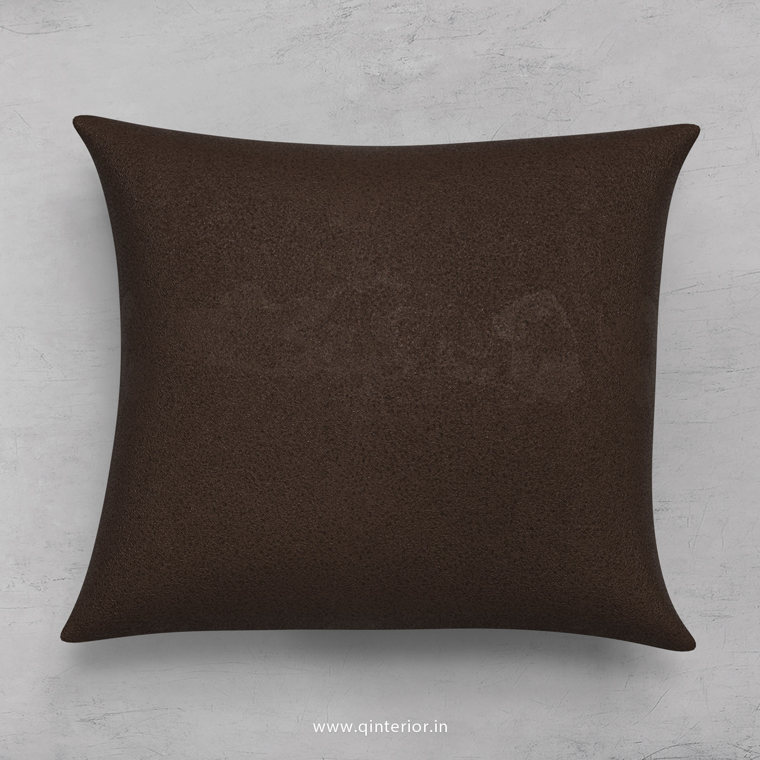 Cushion With Cushion Cover in Fab Leather- CUS001 FL16