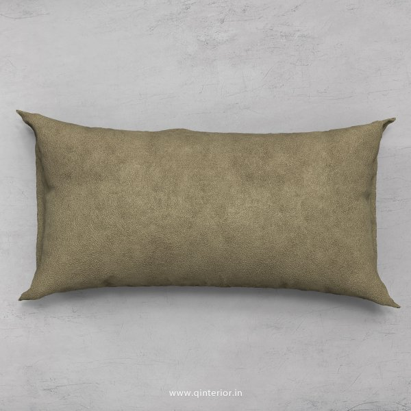 Cushion With Cushion Cover in Fab Leather- CUS002 FL03