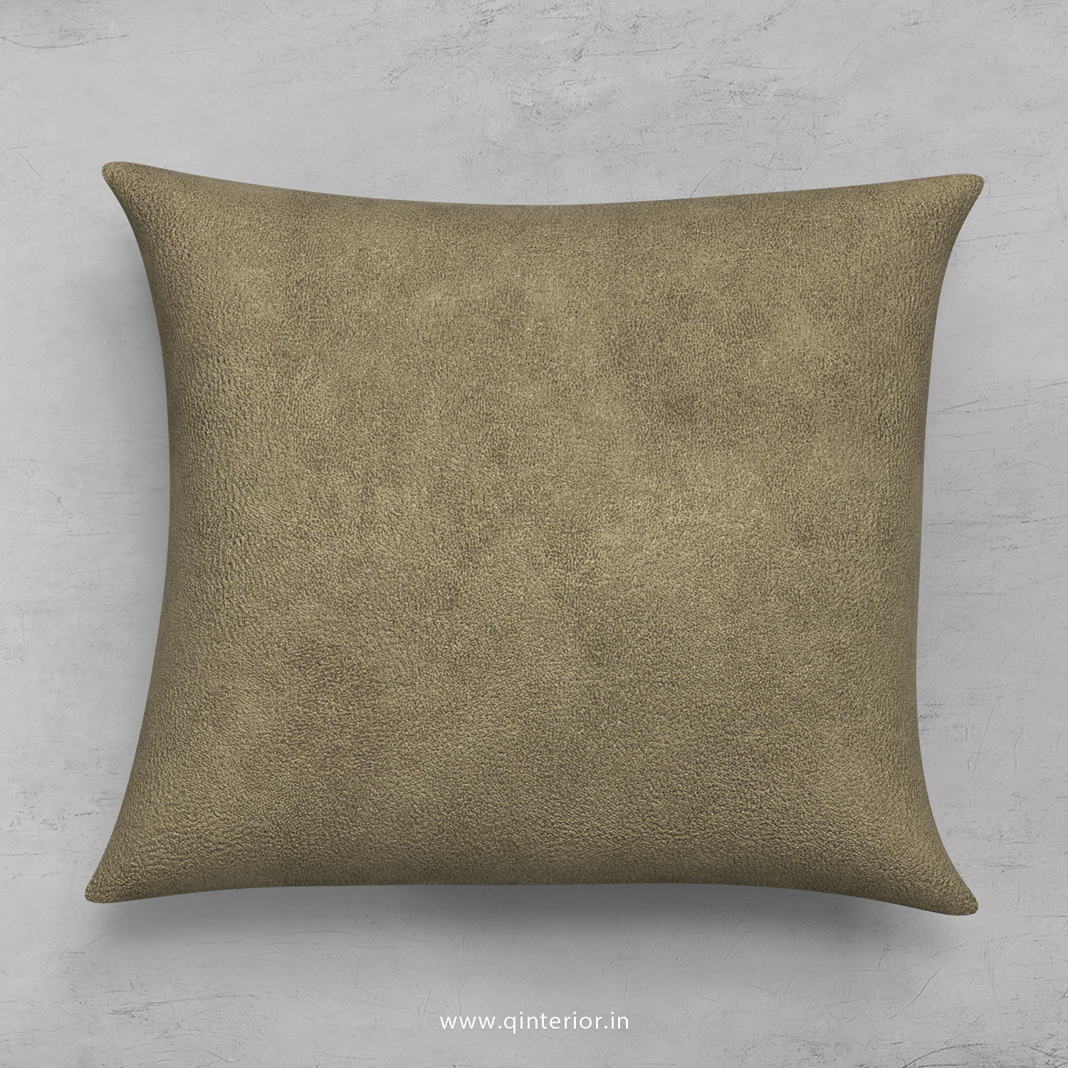 Cushion With Cushion Cover in Fab Leather- CUS001 FL03