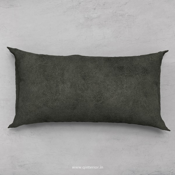 Cushion With Cushion Cover in Fab Leather- CUS002 FL07