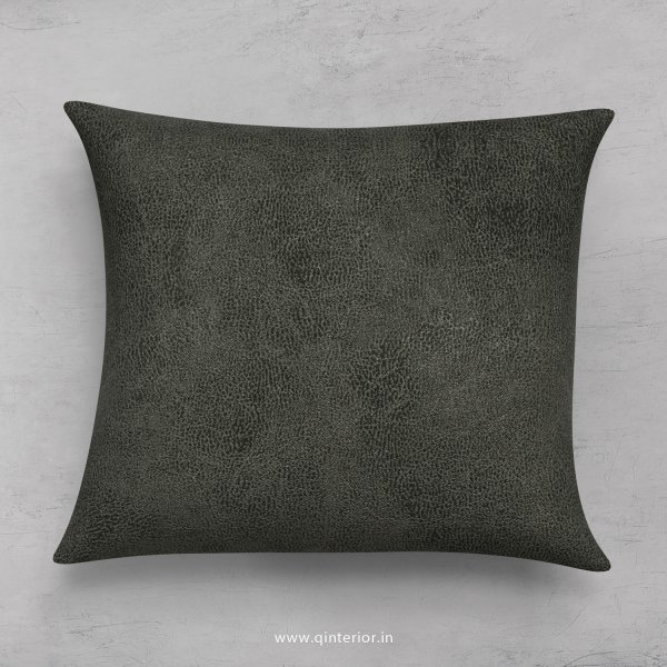 Cushion With Cushion Cover in Fab Leather- CUS001 FL07
