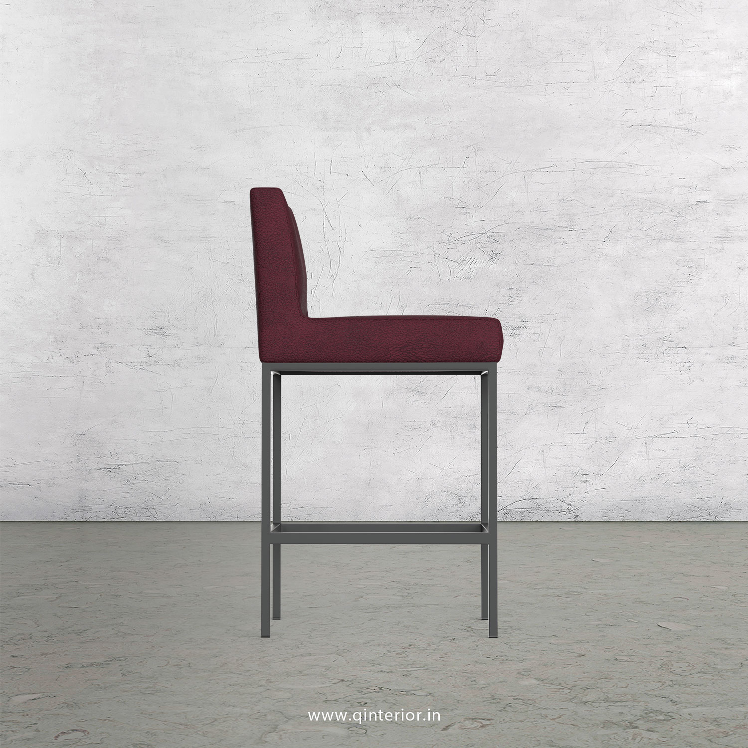 Bar Chair in Fab Leather Fabric - BCH001 FL12