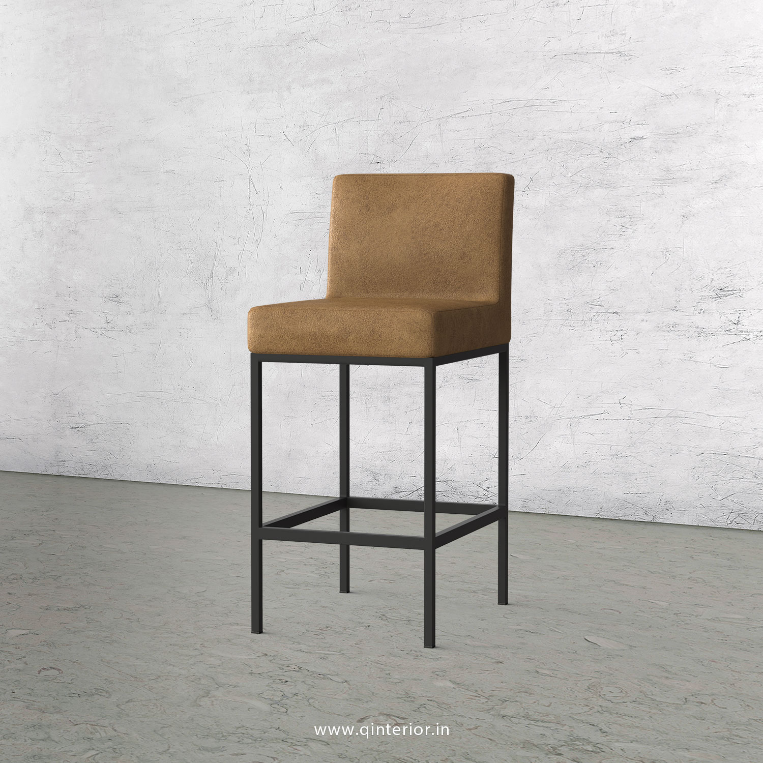 Bar Chair in Fab Leather Fabric - BCH001 FL02