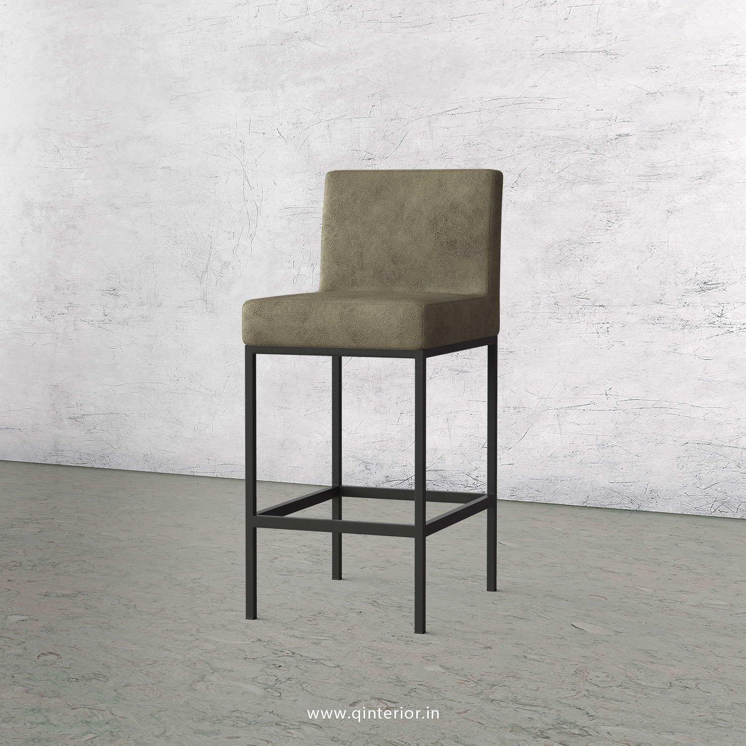 Bar Chair in Fab Leather Fabric - BCH001 FL03