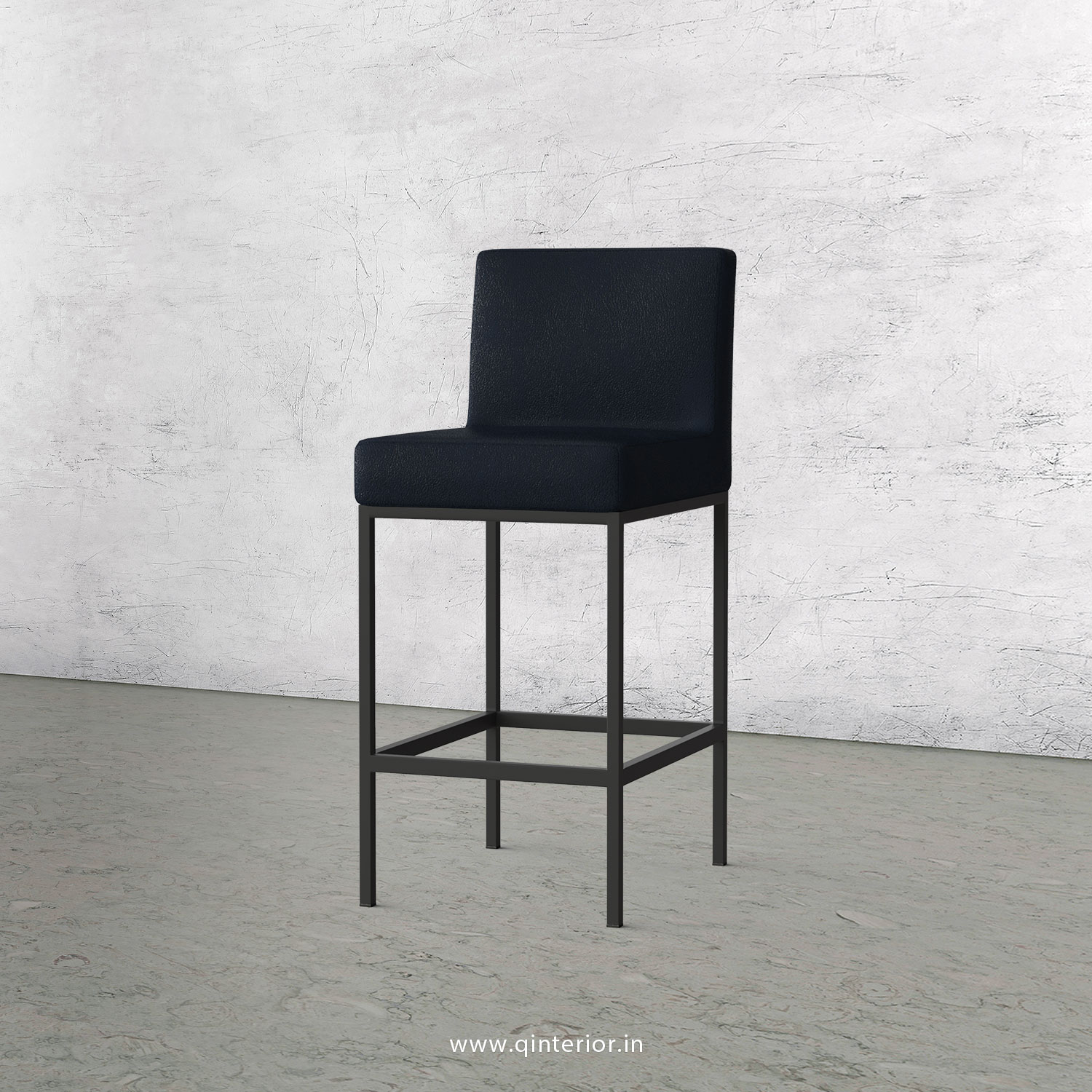 Bar Chair in Fab Leather Fabric - BCH001 FL05