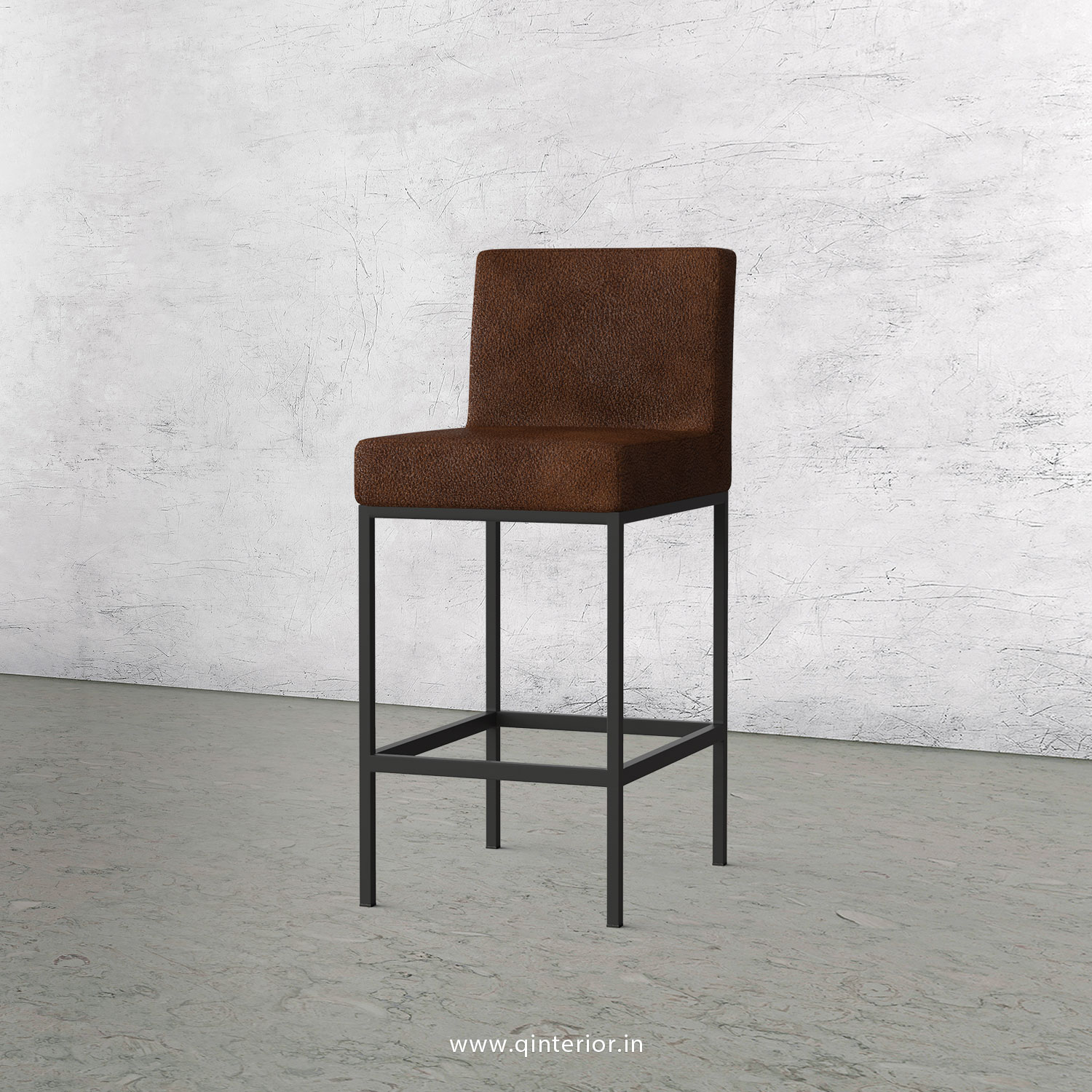 Bar Chair in Fab Leather Fabric - BCH001 FL09