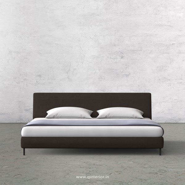 VIVA King Sized Bed in Fab Leather Fabric - KBD003 FL16