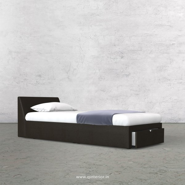 Viva Single Storage Bed in Fab Leather Fabric - SBD001 FL11