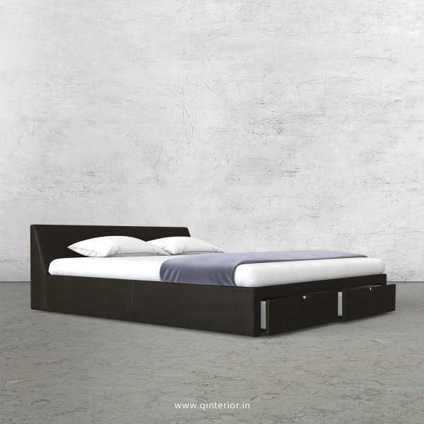 Viva Queen Storage Bed in Fab Leather Fabric - QBD001 FL11