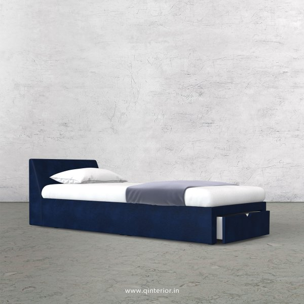 Viva Single Storage Bed in Fab Leather Fabric - SBD001 FL13