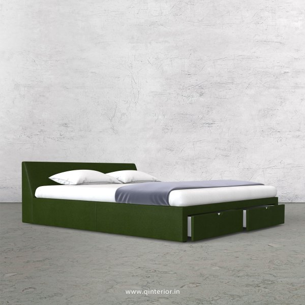 Viva Queen Storage Bed in Fab Leather Fabric - QBD001 FL04