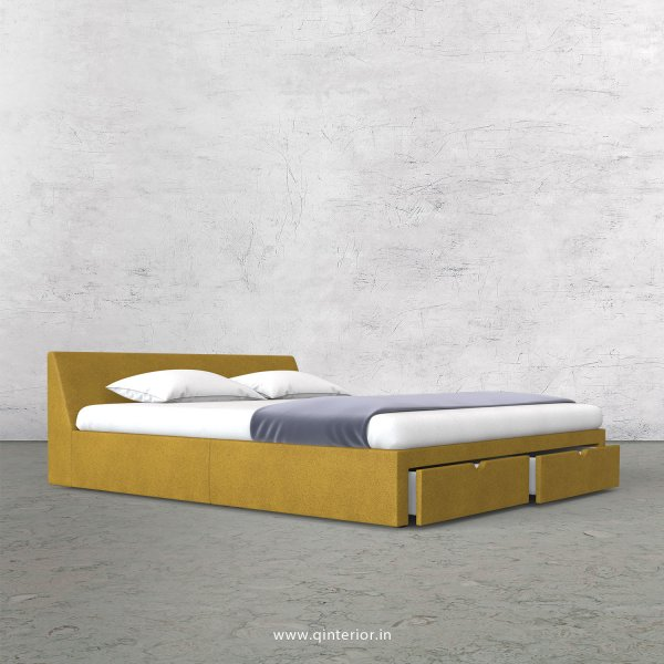 Viva Queen Storage Bed in Fab Leather Fabric - QBD001 FL18