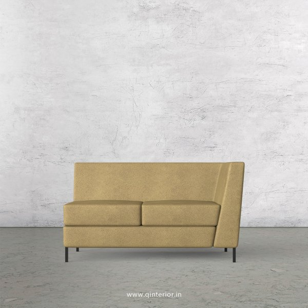 Gloria 2 Seater Modular Sofa in Fab Leather Fabric - MSFA005 FL01
