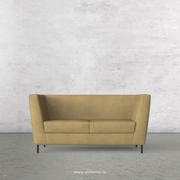 GLORIA 2 Seater Sofa in Fab Leather Fabric - SFA018 FL01