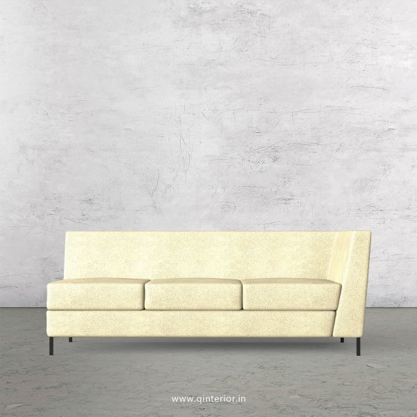 Gloria 3 Seater Modular Sofa in Fab Leather Fabric - MSFA006 FL10