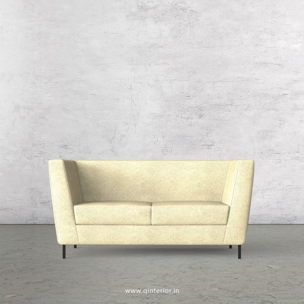 GLORIA 2 Seater Sofa in Fab Leather Fabric - SFA018 FL10