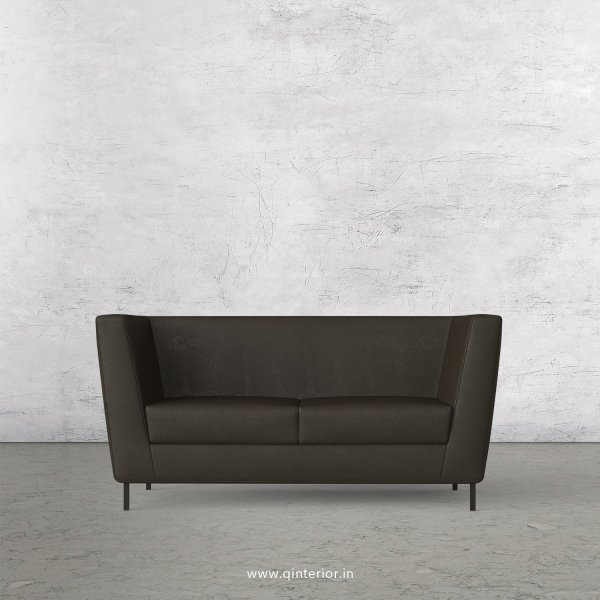GLORIA 2 Seater Sofa in Fab Leather Fabric - SFA018 FL11