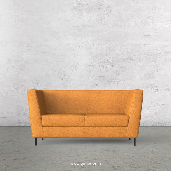 GLORIA 2 Seater Sofa in Fab Leather Fabric - SFA018 FL14