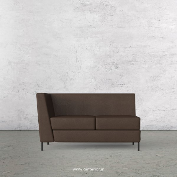 Gloria 2 Seater Modular Sofa in Fab Leather Fabric - MSFA002 FL16