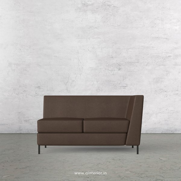 Gloria 2 Seater Modular Sofa in Fab Leather Fabric - MSFA005 FL16