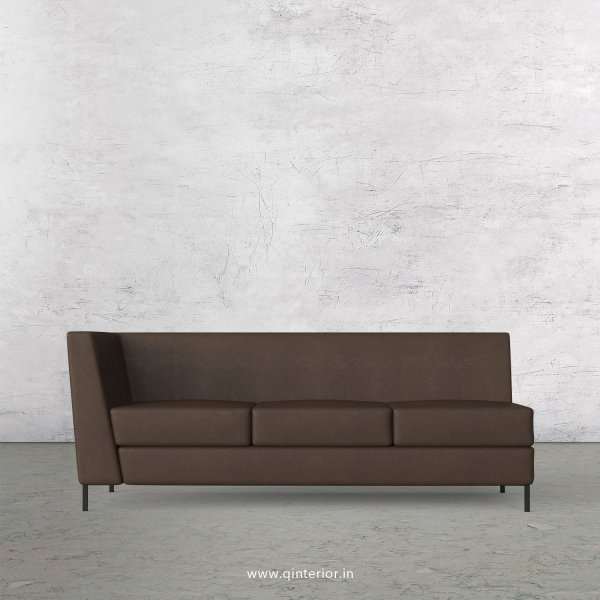 Gloria 3 Seater Modular Sofa in Fab Leather Fabric - MSFA003 FL16