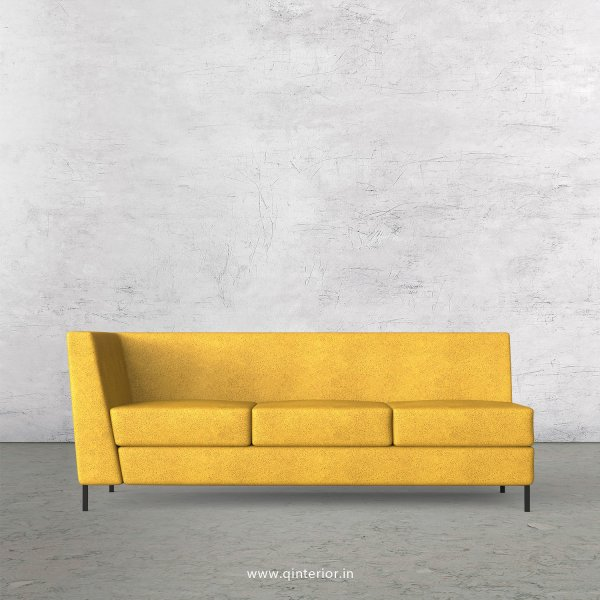 Gloria 3 Seater Modular Sofa in Fab Leather Fabric - MSFA003 FL18